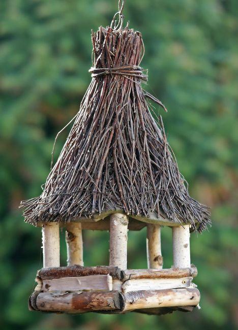 Ładny karmnik dla ptaków