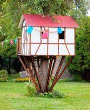 Domek na drzewie dla dziecka