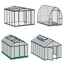 Szklarnie ogrodowe - konstrukcje