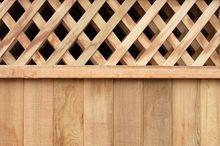 Drewniana osłona balkonowa