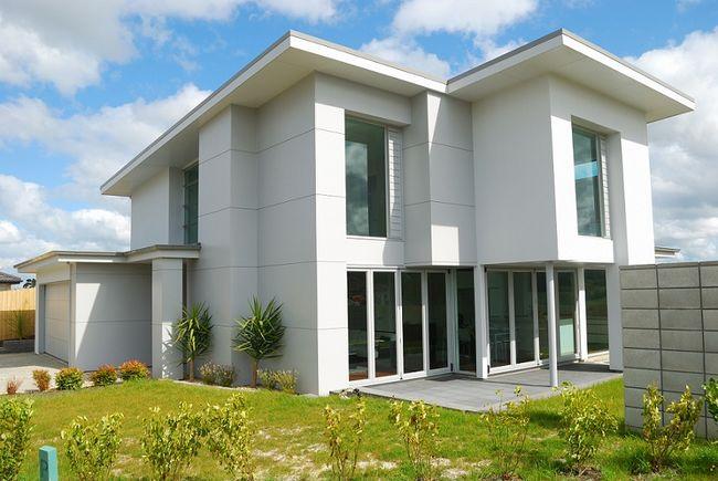 Dom z dachem jednospadowym