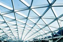 Konstrukcja dachu szklanego