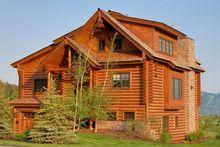 Dom z bali drewnianych