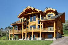 Nowoczesny dom z bali