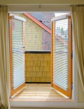 Dwuskrzydłowe drzwi balkonowe