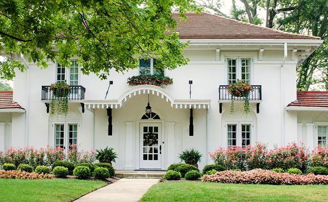 Dom z profilami elewacyjnymi