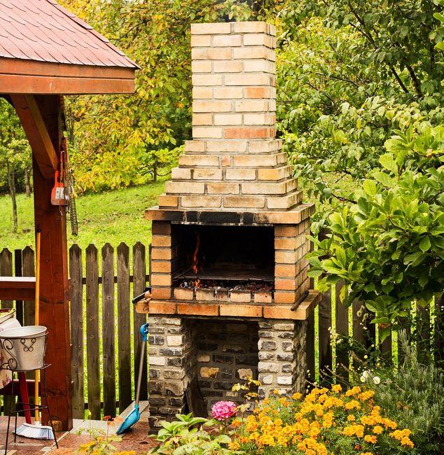 Groovy Jak zbudować grill ogrodowy? Cenne wskazówki - galeria i zdjęcia XV05