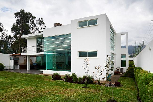 Dom z dachem płaskim