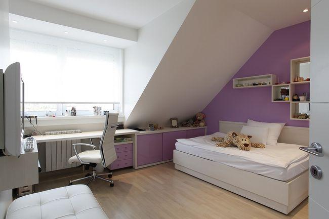 Ściany w pokoju nastolatka