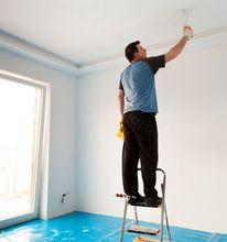 Malowanie sufitu wałkiem