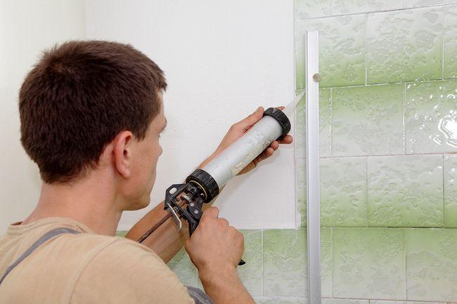 Zastosowanie silikonu sanitarnego