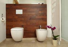 Drewno egzotyczne merbau w łazience