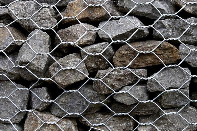 Корзины каменно-сетки – габионы