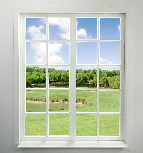 Okno ze szprosami