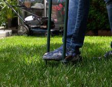 Aeracja trawnika