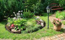 Latarnia w ogrodzie