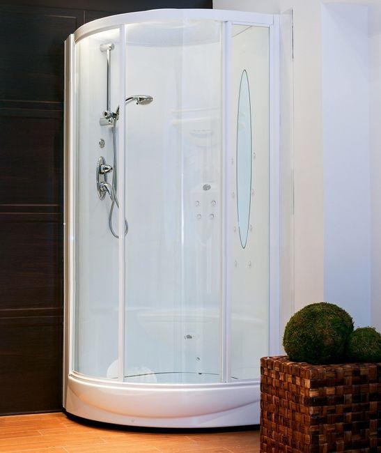 Kabina prysznicowa - narożna - półokragła