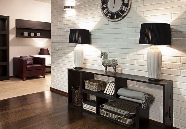 Szafka w przedpokoju - Appartement decoration design glamour vuong ...