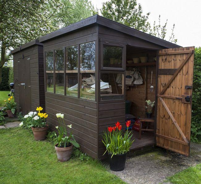 budowa drewnianego domku narz dziowego praktyczne porady. Black Bedroom Furniture Sets. Home Design Ideas