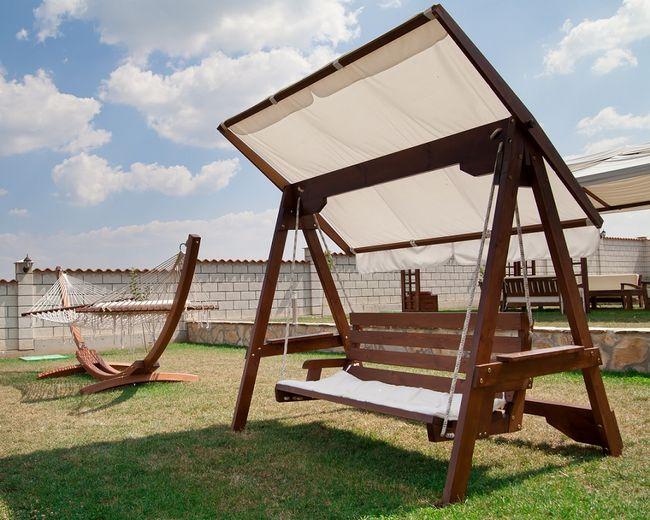 Hustawka Ogrodowa Drewniana Budowa : Drewniane huśtawki ogrodowe  rodzaje, wymiary i konstrukcje