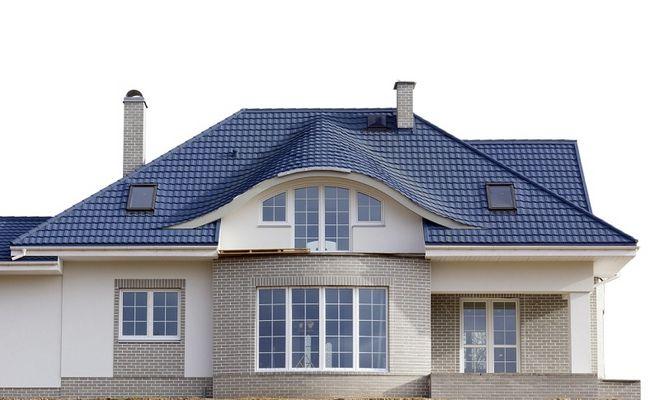 Dom z dachem czterospadowym - kopertowym