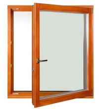 Klasyczne okno drewnianie - 3 szybowe