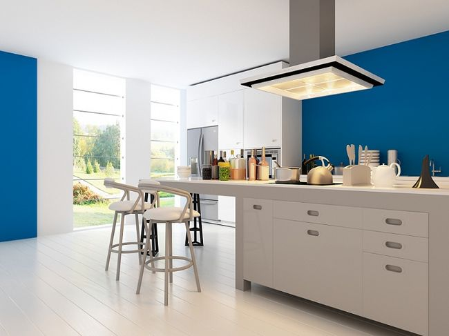 Kuchnie nowoczesne  zdjęcia -> Kuchnia W Kolorze Niebieskim