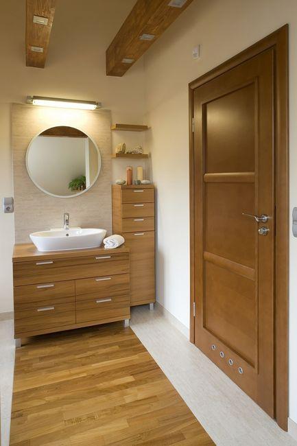 Łazienka i drewno