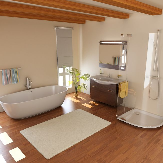 łazienka W Drewnie Czy To Dobry Pomysł