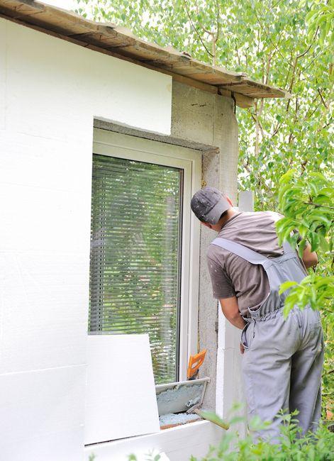 Ocieplanie domu styropianem