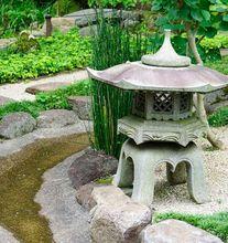Ogród japoński - rzeźba