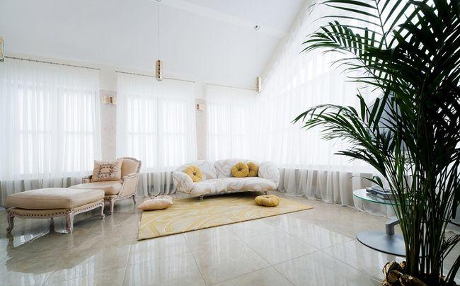 Firany do salonu, sypialni i kuchni