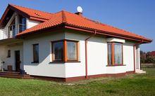 Dom z oknem narożnym