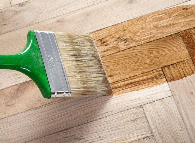 Lakierowanie podłogi - parkietu