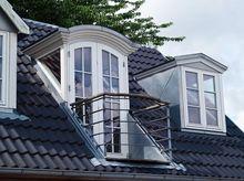 Dach pokryty dachówką