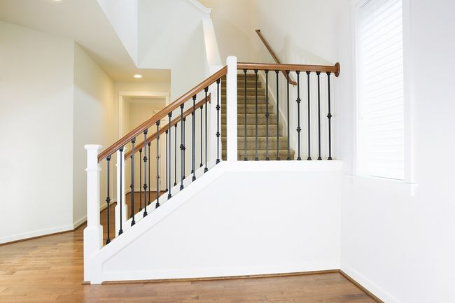 Poręcze do schodów wewnętrznych zdjęcia