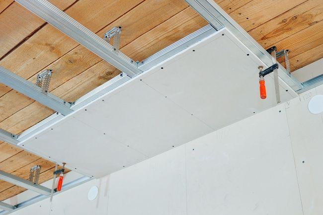 Sufit podwieszany montaż