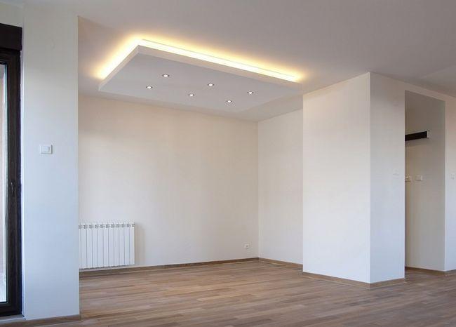 Oświetlenie sufitu podwieszanego