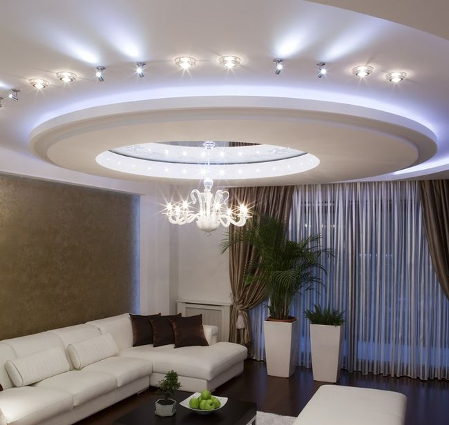Sufity podwieszane konstrukcja for Sufit podwieszany w salonie