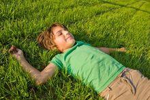 Trawnik odpowiednio nawożony