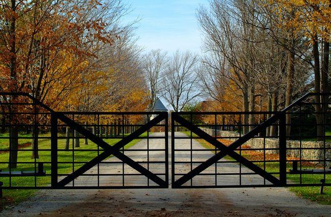 Brama automatyczna - dwuskrzydłowa