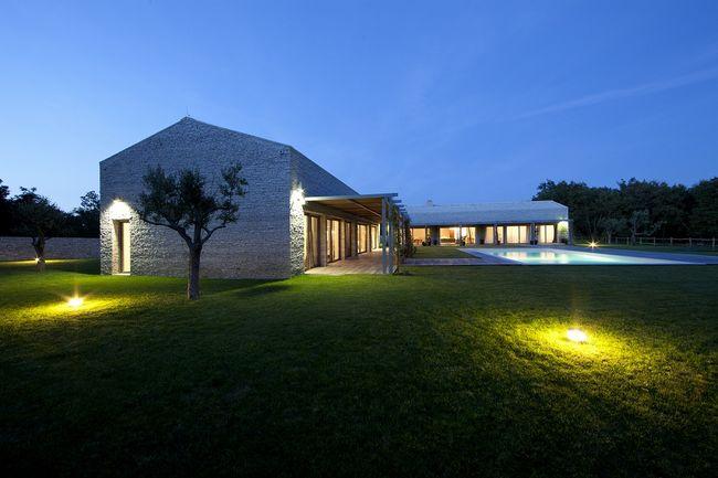 Oświetlenie zewnętrzne domu
