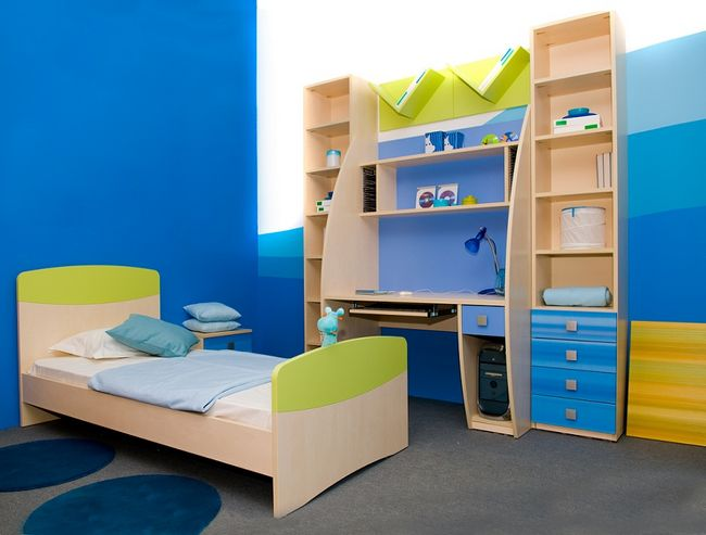 Meble w pokoju dziecka
