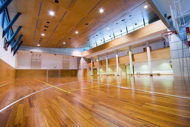 Podłoga w hali sportowej