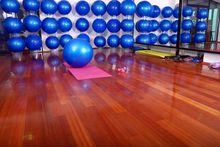 Podłoga w klubie fitness