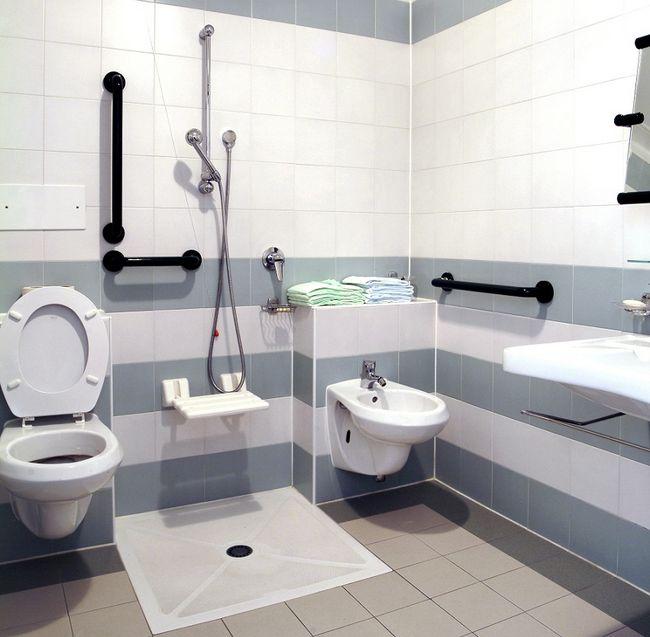 Azienka dla os b niepe nosprawnych for Salle de bain handicape