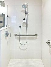 Prysznic z poręczami