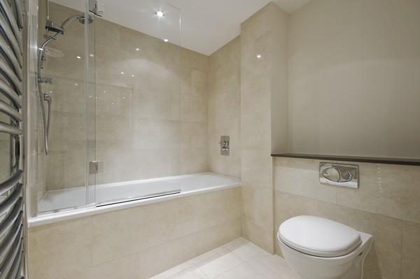 плитка мозаика в маленькой ванной фото