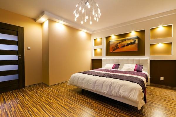 o wietlenie w sypialni lampy pomys y i aran acje. Black Bedroom Furniture Sets. Home Design Ideas