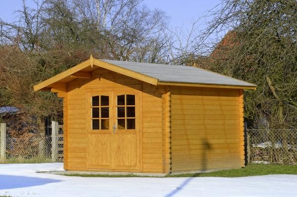 Modernistyczne Budowa drewnianego domku narzędziowego - praktyczne porady KV37